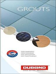 Epoxy Flooring, Adhesives, Grouts & Wall Putty
